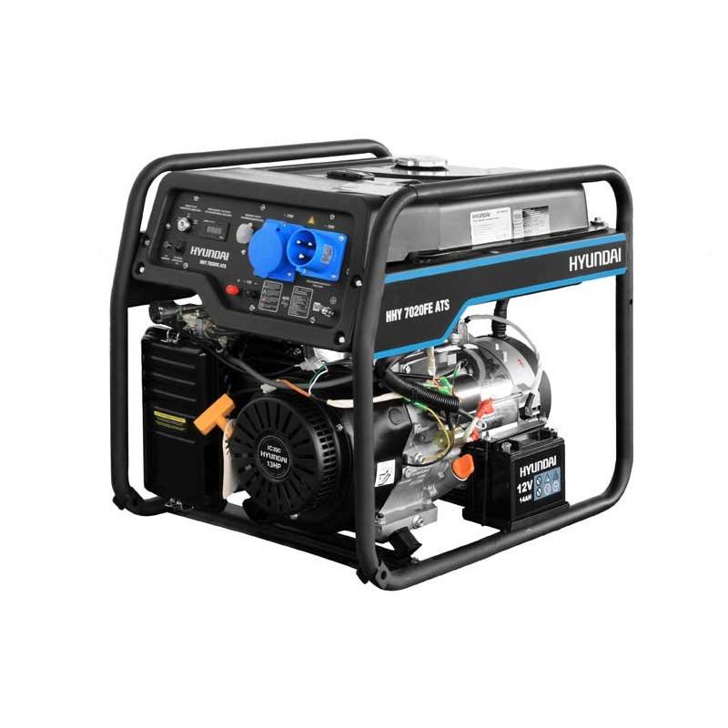 Генератор Hyundai HHY 7020 FE ATS   5/5,5 кВт (Корея)