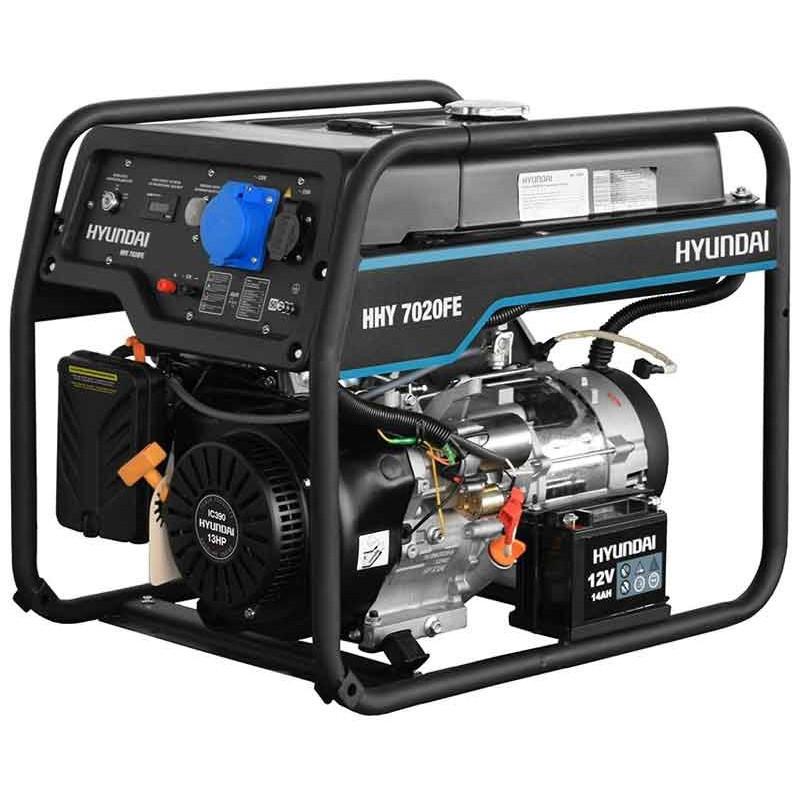 Генератор Hyundai HHY 7020 FE   5/5,5 кВт (Корея)