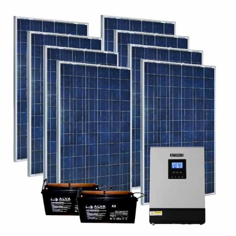 Автономна сонячна станція на 2 кВт   2 кВт (Україна)