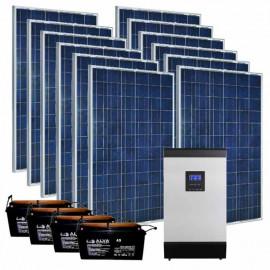 Автономная солнечная станция на 3 кВт | 3 кВт (Украина)