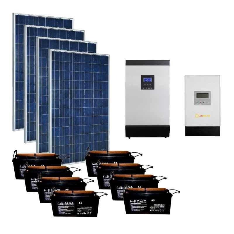 Автономна сонячна станція на 6 кВт | 6 кВт (Україна)