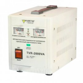 Стабилизатор Forte TVR-2000VA | 1,2 кВт (Китай)