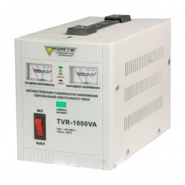 Стабилизатор Forte TVR-1000VA | 0,6 кВт (Китай)