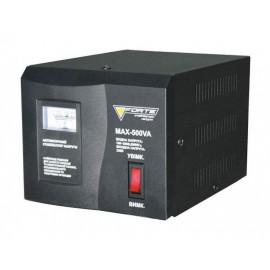 Стабілізатор напруги Forte MAX-500VA | 0,3 кВт (Китай)