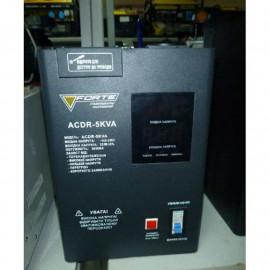 Стабилизатор Forte ACDR-5kVA | 3 кВт (Китай)