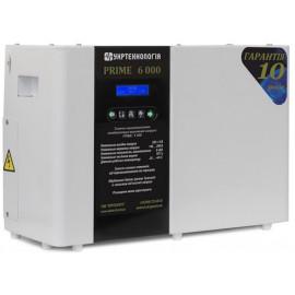 Стабилизатор напряжения Prime 6000 | 6 кВт (Украина)