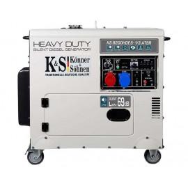 Генератор Konner&Sohner KS 8200HDES-1/3 ATSR | 5/6 кВт (Германия)