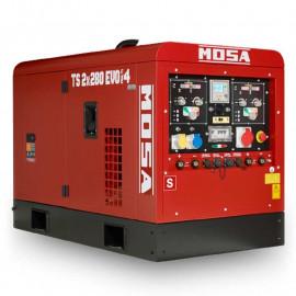 Сварочный генератор MOSA TS EVO MULTI 4 | 5,6/9,6 кВт (Италия)