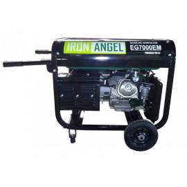 Генератор IRON ANGEL EG 7000 EМ | 6,5/7 кВт (Нидерланды)
