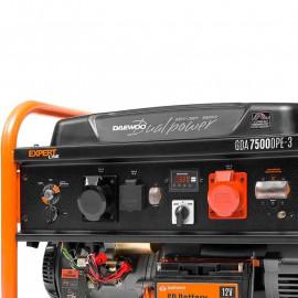 Генератор Daewoo GDA 7500DPE-3 | 6/6,5 кВт (Германия)
