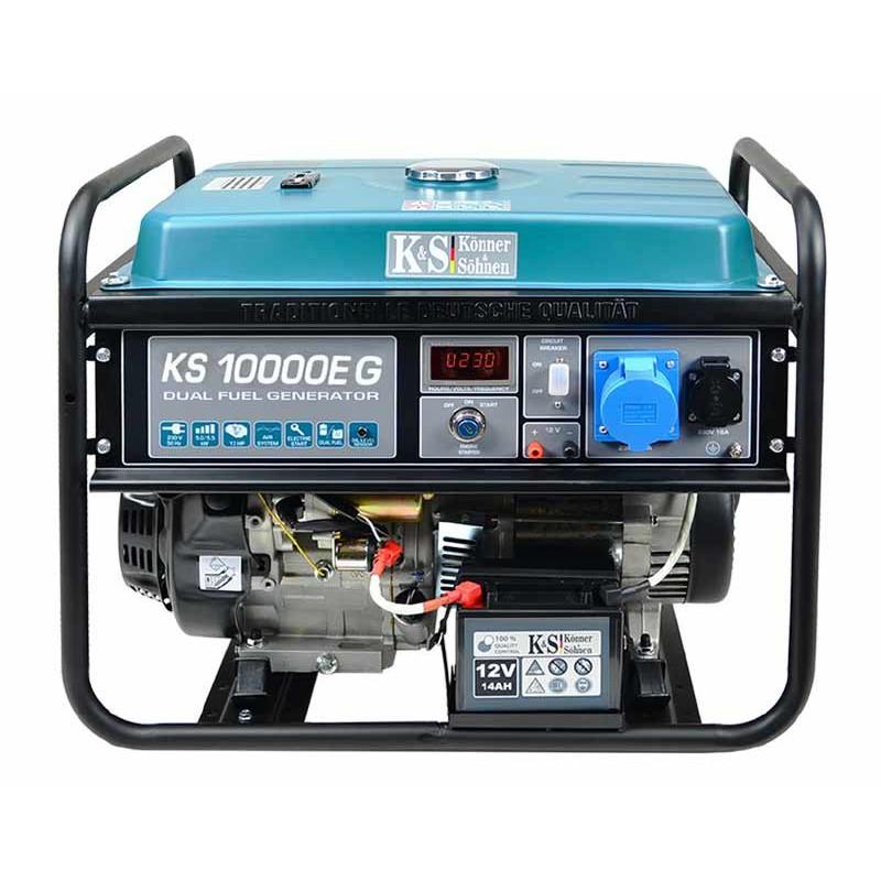 Генератор Konner&Sohnen KS 10000E G   7,5/8 кВт (Німеччина)