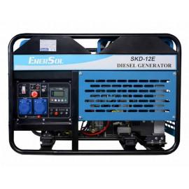 Генератор EnerSol SKD-12E | 10/11 кВт (Турция)