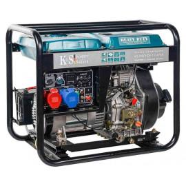 Генератор Konner&Sohnen 8102HDE-1/3 atsR | 6/6,5 кВт (Германия)