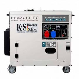 Генератор Konner&Sohnen KS 9202HDES-1/3 atsR | 7/7,5 кВт (Германия)