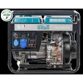 Генератор Konner&Sohnen 6100HDE | 5/5,5 кВт (Німеччина)