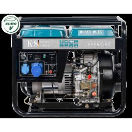 Генератор Konner&Sohnen 8100HDE-1/3 ATSR | 4,8/6,5 кВт (Германия)