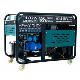Генератор Konner&Sohnen KS 14-1DE atsR   10,5/11 кВт (Германия)