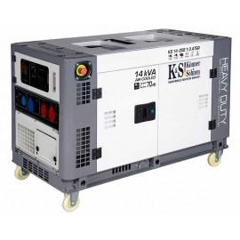 Генератор Konner&Sohnen KS 14-2DE 1/3 atsR | 9,5/10 кВт (Німеччина)