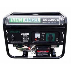Генератор IRON ANGEL EG3200Е ATS | 2,8/2,3 кВт (Нідерланди)