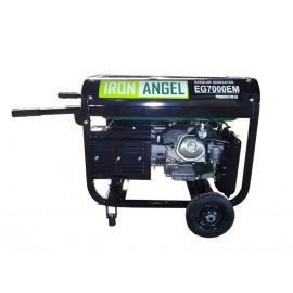 Генератор IRON ANGEL EG7000Е ATS | 6,5/7 кВт (Нидерланды)