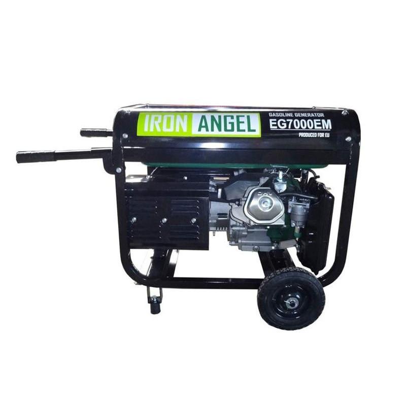 Генератор IRON ANGEL EG7000Е ATS   6,5/7 кВт (Нідерланди)