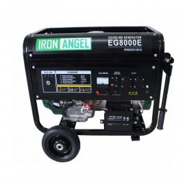 Генератор IRON ANGEL EG8000Е ATS | 6/7 кВт (Нидерланды)