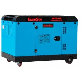 Генератор EnerSol SKDS-14E   11/12 кВт (Турция)