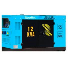 Генератор EnerSol SKDS-12E-3(B)   10/11 кВт (Турция)