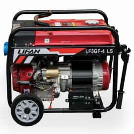 Генератор Lifan LF5GF-4 LS | 5/5,5 кВт (Китай)