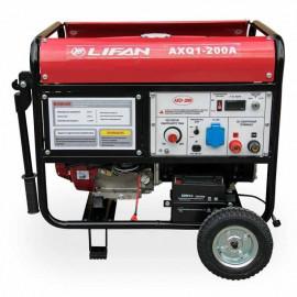 Генератор зварювальний Lifan AXQ1-200A | 3,8/4,2 кВт (Китай)