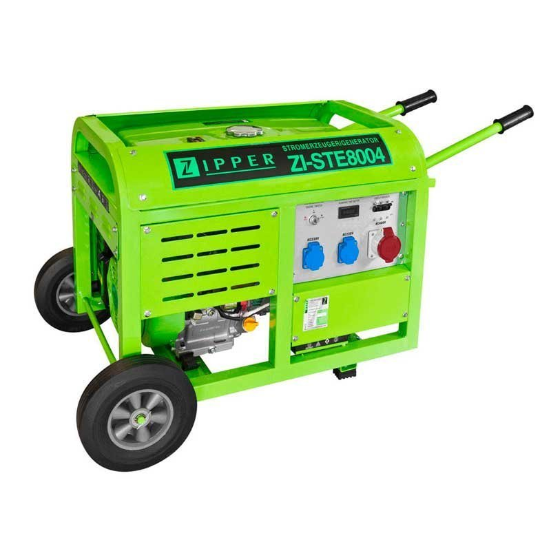 Генератор Zipper ZI-STE 8004 | 7/8 кВт (Австрія)