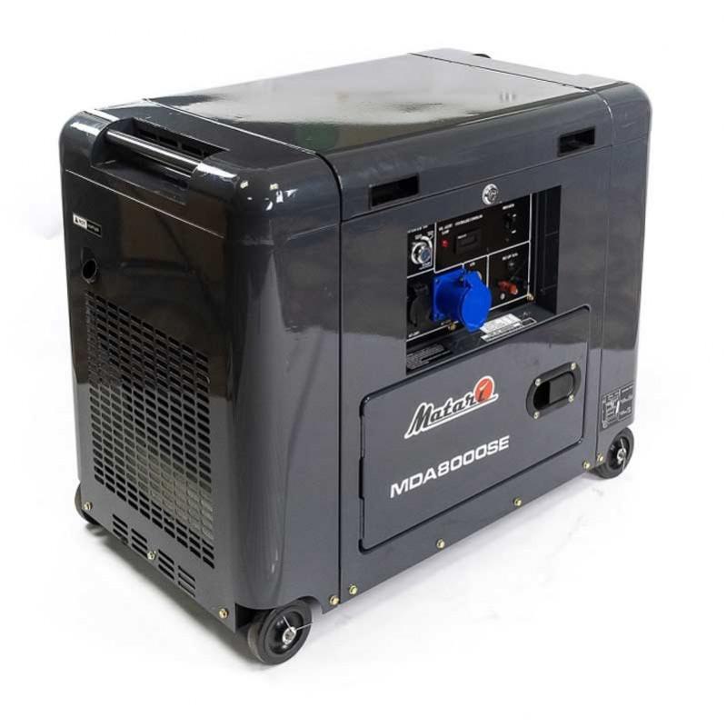 Генератор Matari MDA8000SE | 5,5/6 кВт (Японiя)