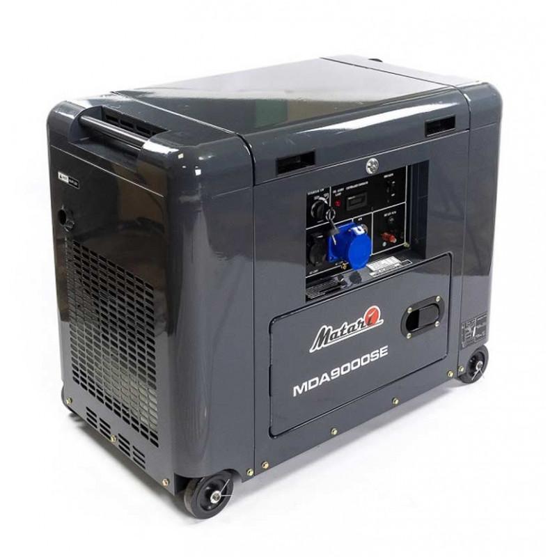 Генератор Matari MDA9000SE  6,5/7 кВт (Япония)