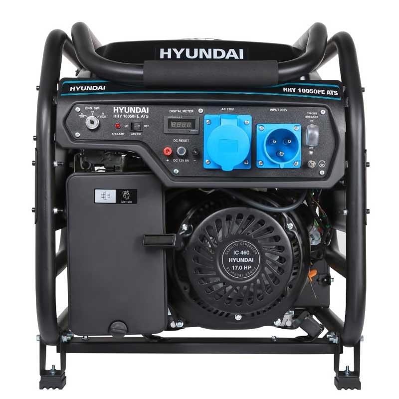 Генератор Hyundai HHY 10050FE ATS | 7,5/8 кВт (Корея)