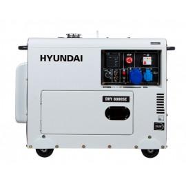 Генератор Hyundai DHY 8000 SE | 5,5/6 кВт (Корея)