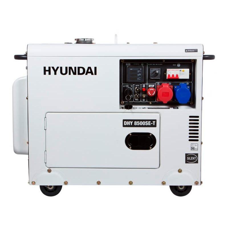 Генератор Hyundai DHY 8500SE-Т | 6,5/7,2 кВт (Корея)