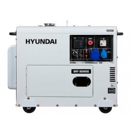 Генератор Hyundai DHY 8500SE | 6,5/7,2 кВт (Корея)