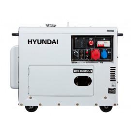 Генератор Hyundai DHY 8500SE-3 | 6,5/7,2 кВт (Корея)