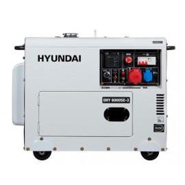 Генератор Hyundai DHY 6000 SE 3 | 5/5,5 кВт (Корея)