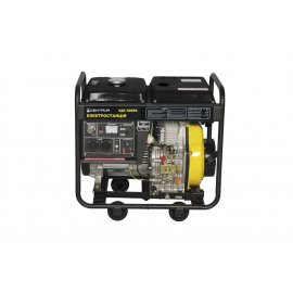 Генератор Кентавр КДГ 505 ЕК | 5/5,5 кВт (Україна)