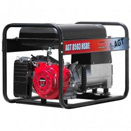 Генератор зварювальний AGT WAGT 220 DC HSBE R26 | 6,5 кВт (Румунія)