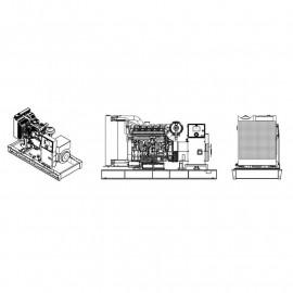 Генератор EnerSol SКRS-42К   30/33 кВт (Турция)