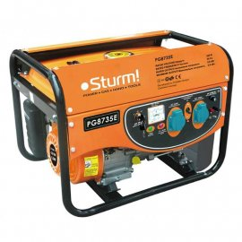Генератор Sturm PG8735Е | 3/3,5 кВт (Германия)