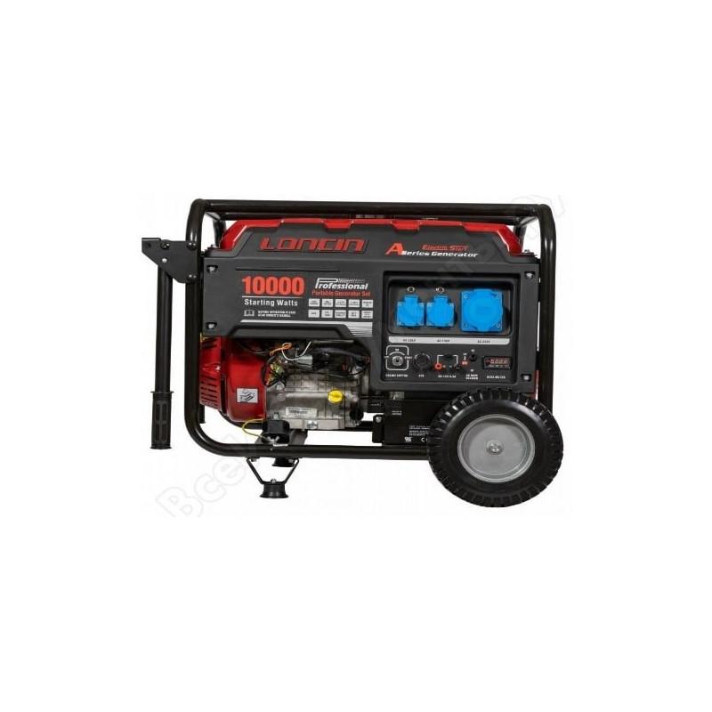 Генератор Loncin LC 10000 D-AS | 7,3/8 кВт (Китай)