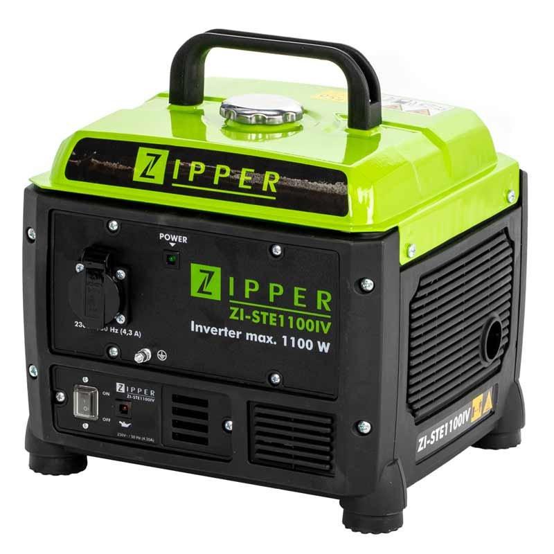 Генератор інверторний Zipper ZI-STE1100IV   1,1/1,3 кВт (Австрія)