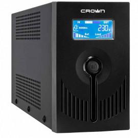 ИБП Crown CMU-SP 650 EURO LCD USB   0,65 кВа (Китай)