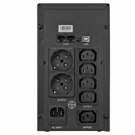 ИБП Crown CMU-SP 800 EURO USB   0,8 кВа (Китай)