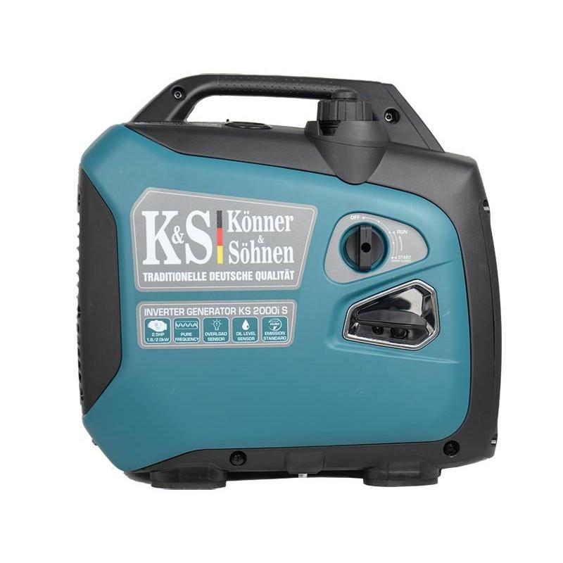 Генератор инверторный Konner&Sohnen KS 2000i S   1,8/2 кВт (Германия)