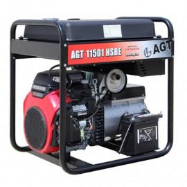 Генератор бензиновый AGT 11501 HSBE R45 | 8,8/11 кВт (Румыния)