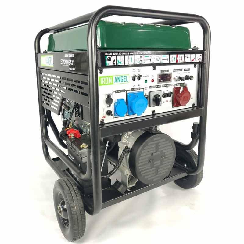 Генератор Iron Angel EG12000E3/1 | 10/11 кВт (Нідерланди)